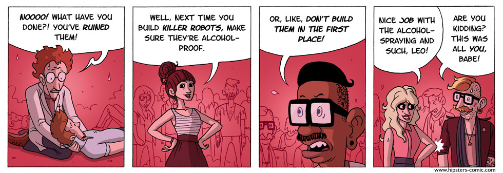 HIPSTERS vs. Robots part 20