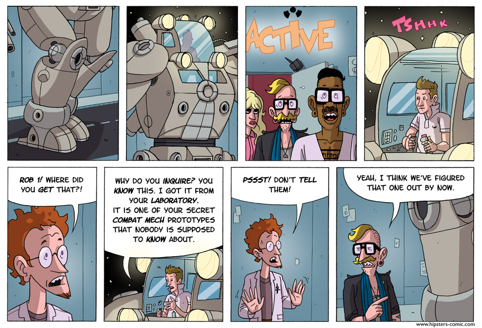 HIPSTERS vs. Robots part 23