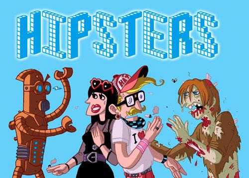 Hipster vs indie