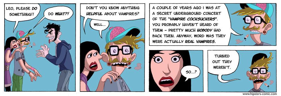 HIPSTERS vs. vampires part 6