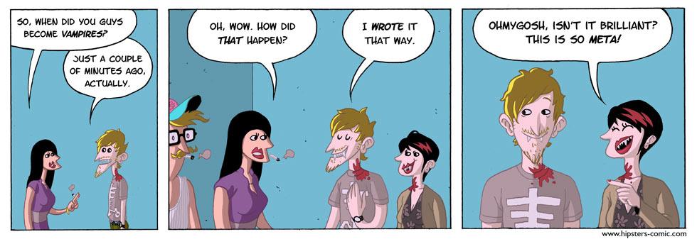 HIPSTERS vs. vampires part 19