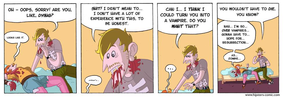 HIPSTERS vs. vampires part 24