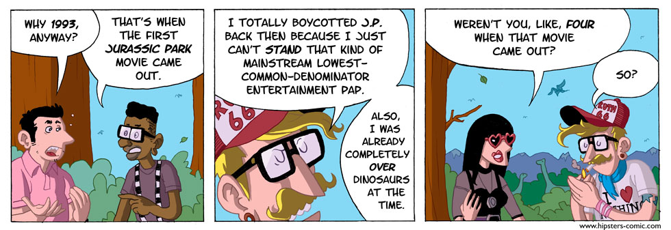 HIPSTERS vs. DINOSAURS part 8