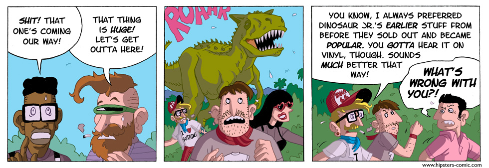 HIPSTERS vs. DINOSAURS part 9
