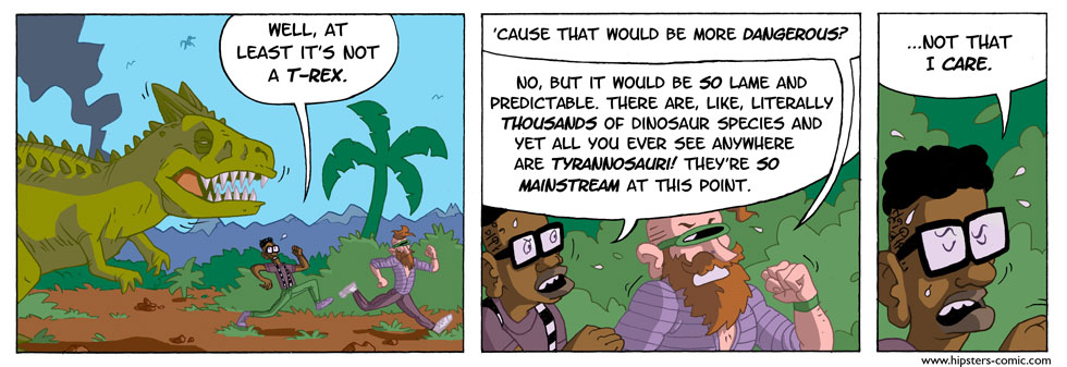 HIPSTERS vs. DINOSAURS part 10
