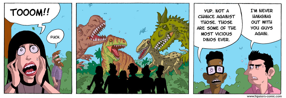HIPSTERS vs. DINOSAURS part 16