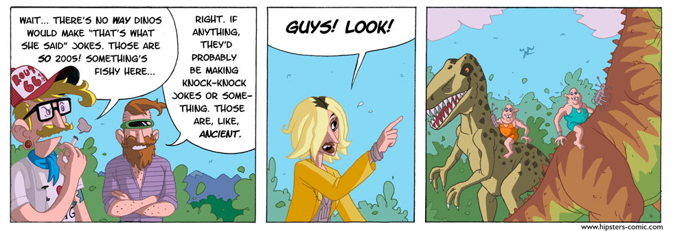 HIPSTERS vs. DINOSAURS part 19