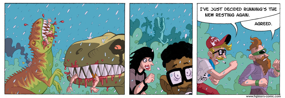 HIPSTERS vs. DINOSAURS part 27
