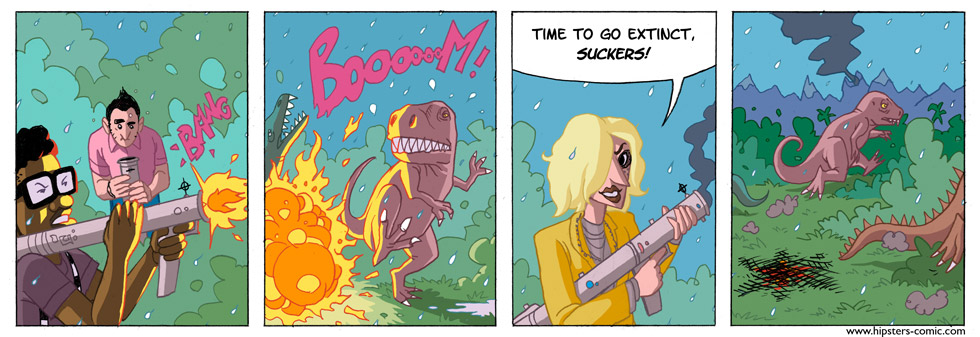 HIPSTERS vs. DINOSAURS part 31