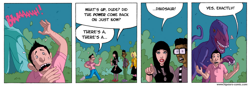 HIPSTERS vs. DINOSAURS part 38