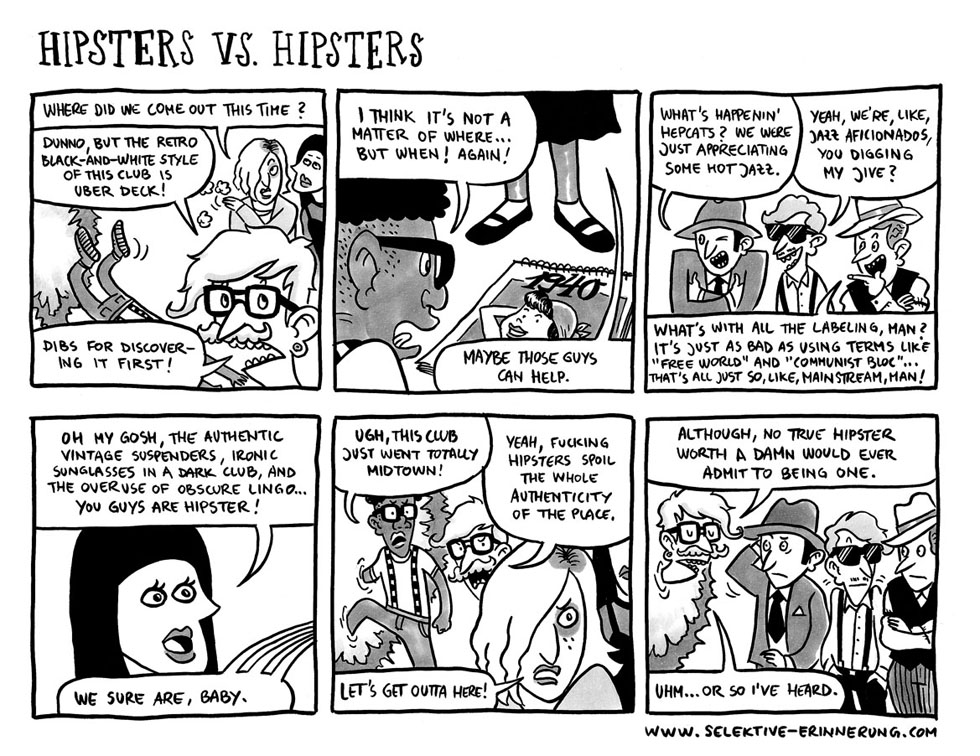 HIPSTERS vs. HIPSTERS, by Haiko Hörnig & Marius Pawlitza