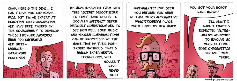 HIPSTERS vs. Robots part 12