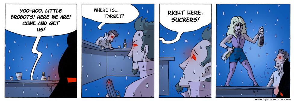 HIPSTERS vs. Robots part 18