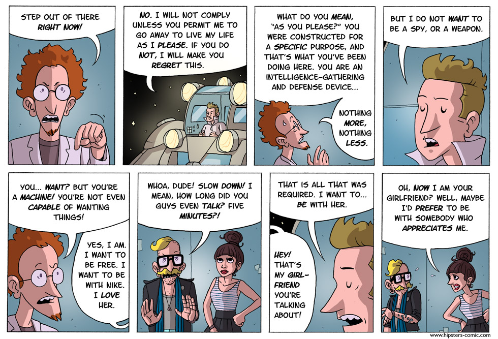 HIPSTERS vs. Robots part 24